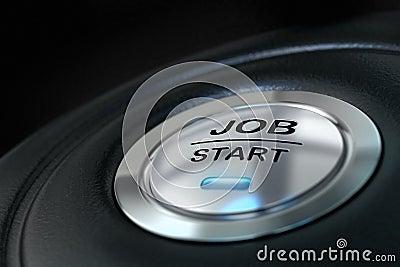 Job start buton