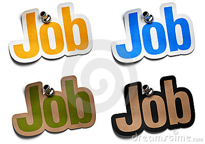 Job stickers
