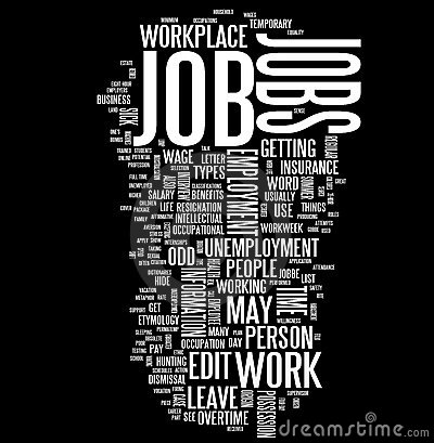 Job word cloud