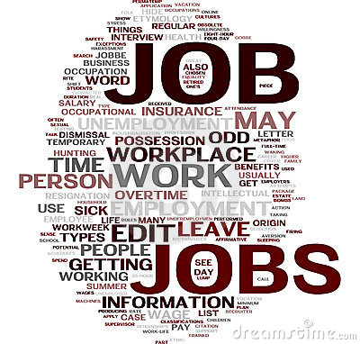 Job word cloud