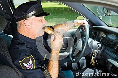 Jobbpolis som snacking
