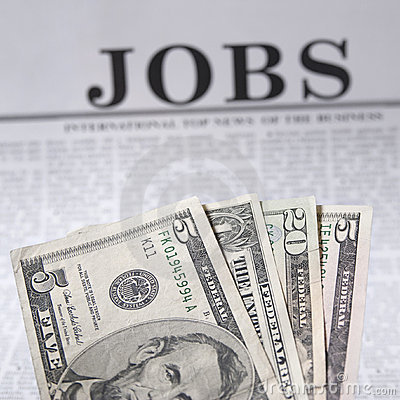 Free Jobs Available Royalty Free Stock Image - 12967666
