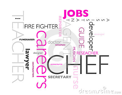 Jobs and careers concept