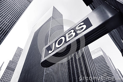 Jobs concept Stock Photo