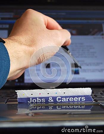 Jobs on-line
