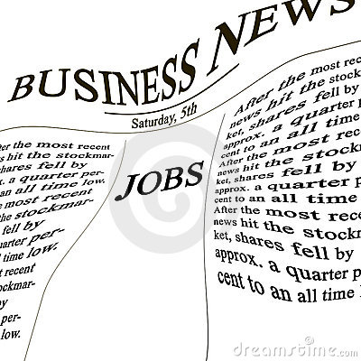 Jobs in the news paper