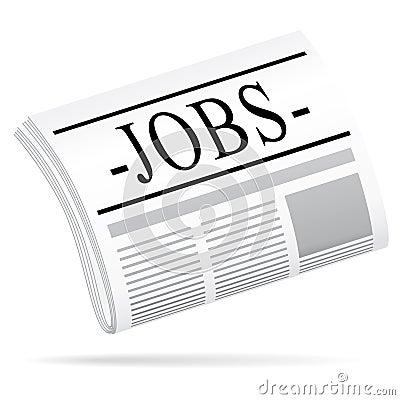 Jobs newspaper.