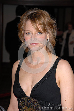 Jodie Foster Editorial Stock Image