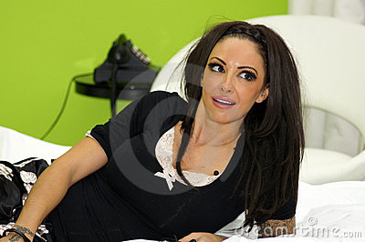 Jodie Marsh Editorial Image