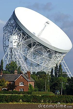 Free Jodrell Bank Radio Telescope Stock Photography - 19746532