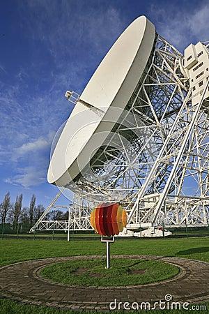 Free Jodrell Bank Radio Telescope Royalty Free Stock Photos - 3971978