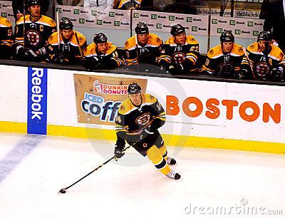 Joe Corvo Boston Bruins defenseman Editorial Image