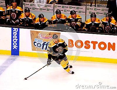 Joe Corvo Boston Bruins defenseman Editorial Image