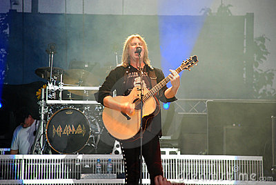 Joe Elliott, Def Leppard Editorial Stock Image