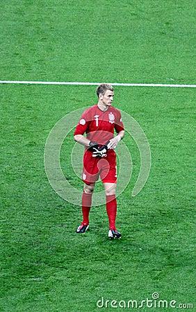 Joe Hart - England goalie Editorial Stock Photo