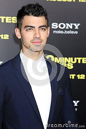 Joe Jonas Editorial Image
