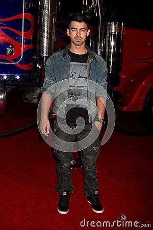 Joe Jonas Editorial Stock Photo