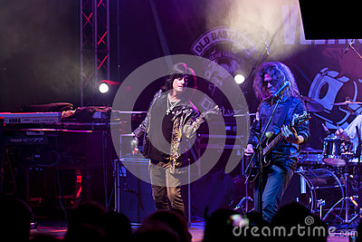 Joe Lynn Turner band Editorial Image