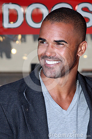 Joe Mantegna,Shemar Moore Editorial Photo