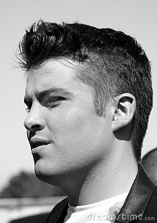 Joe McElderry Mono Editorial Photo