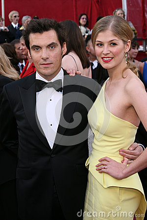 Joe Wright,Rosamund Pike Editorial Stock Image