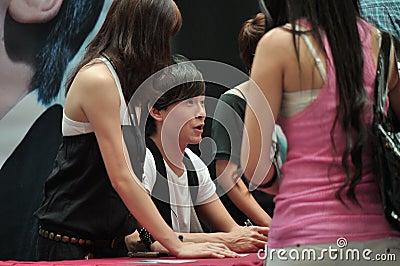 Joe Zheng Autograph Session Editorial Photo