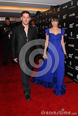 Joel Madden,Nicole Richie Editorial Image