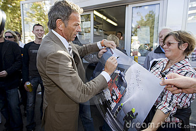Joerg Haider, Austrian politician Editorial Stock Photo