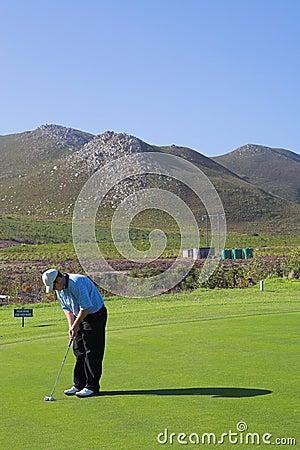 Jogador de golfe #52