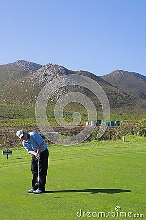 Jogador de golfe #53