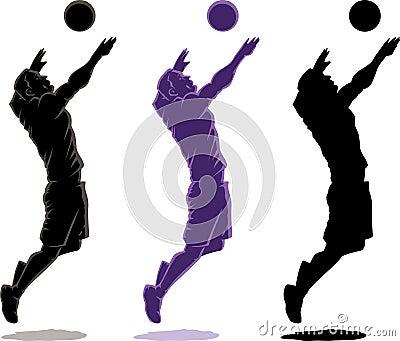 jogador de voleibol fotos de stock   imagem 19918083