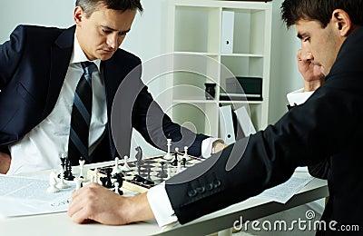 Jogando o negócio