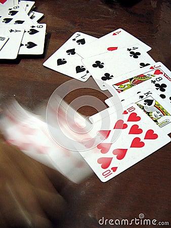 Jogar no movimento (mão no movimento)