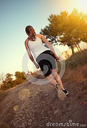 Jogger woman