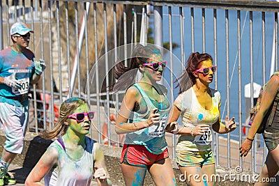 Joggers Taking Part In Marathon Race Free Public Domain Cc0 Image