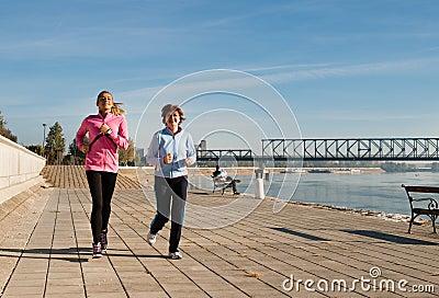 Jogging on coasts