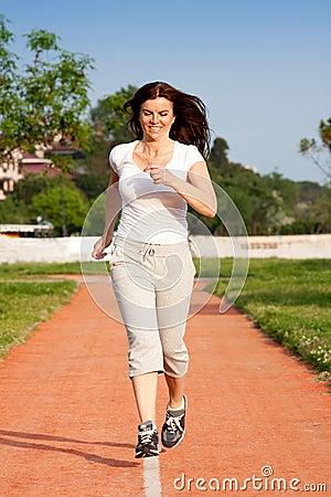Jogging at park