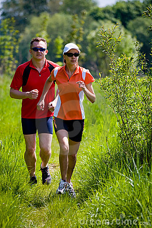 Free Jogging People Stock Images - 5338974