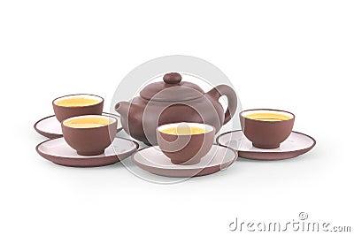 Jogo de chá chinês de Yixing