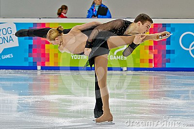 Jogos Olímpicos 2012 da juventude Imagem de Stock Editorial