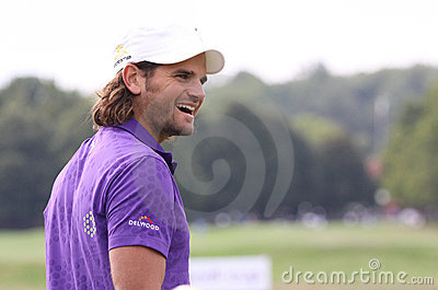 Johan Edfors, Vivendi golf cup, sept 2010 Editorial Photography