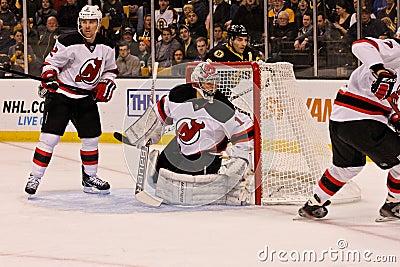 Johan Hedberg New Jersey Devils Editorial Photo