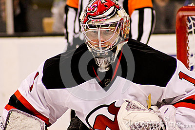 Johan Hedberg New Jersey Devils Editorial Stock Photo