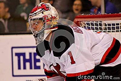 Johan Hedberg New Jersey Devils Editorial Image