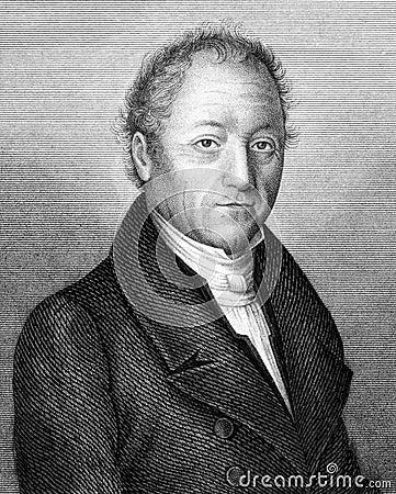 Johann Adam von Itzstein Editorial Image