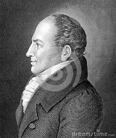Johann Friedrich Kind Editorial Stock Photo