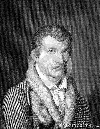 Johann Gottfried Seume Editorial Image
