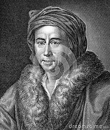 Johann Joachim Winckelmann Editorial Stock Image