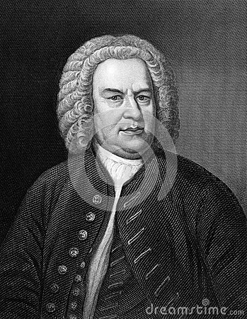 Johann Sebastian Bach Editorial Stock Photo