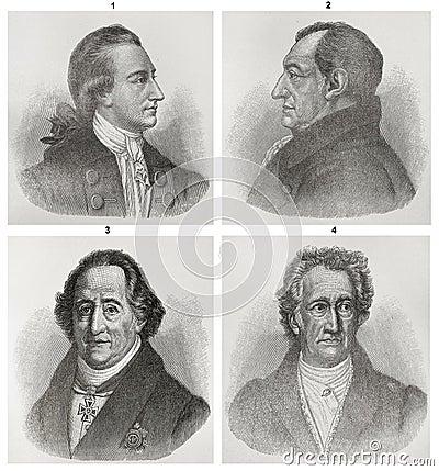 Johann Wolfgang von Goethe Editorial Image